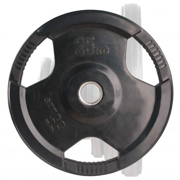 Olympia Hantelscheibe Body-Track® OPR25 gummiert, 25 kg