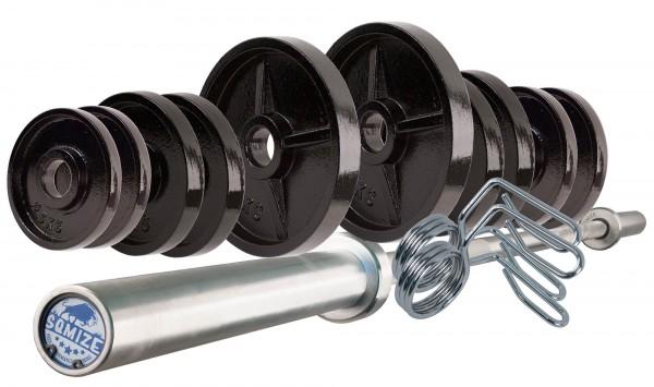 Olympia Legacy Langhantelset Body-Track® DB50LP, 70 kg