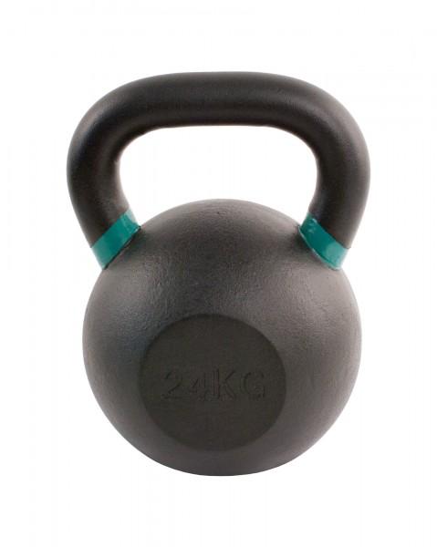 Black Kettlebell SQMIZE® BFK24 farbcodiert, 24 kg