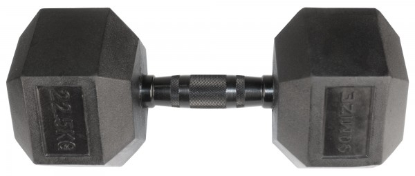 Hex Dumbbell SQMIZE® HDBR-Z22.5 Black Zinc