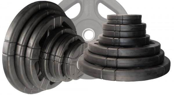50 mm Hantelscheibenset Body-Track® DB125RB, 125 kg