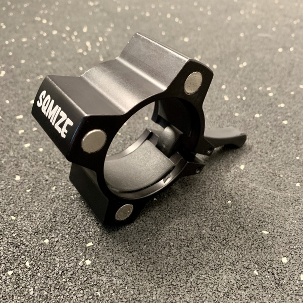 Hantelverschluss 50 mm SQMIZE® OC14 Magnetic Black