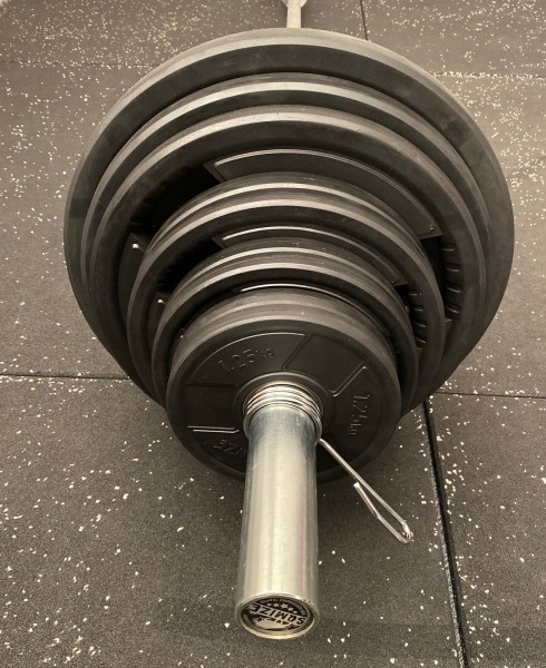Olympia Langhantelset SQMIZE® DB331, 145 kg