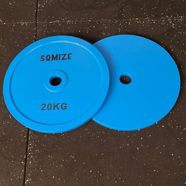 Powerlifting Hantelscheibe SQMIZE® PLSP20 Steel Plate Series