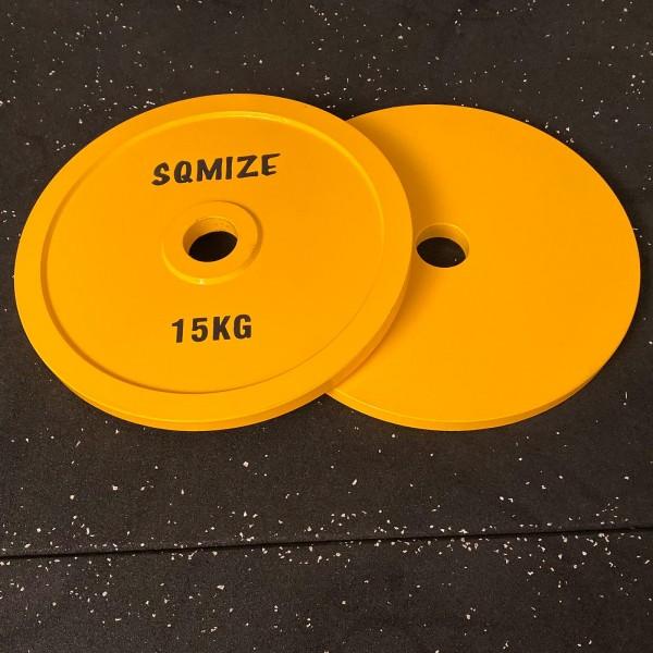 Powerlifting Hantelscheibe SQMIZE® PLSP15 Steel Plate Series