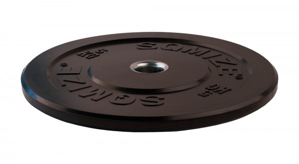 Bumper Plate SQMIZE® BBP5 Training, 5 kg, schwarz