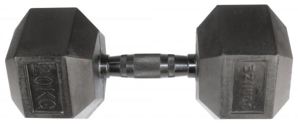 Hex Dumbbell SQMIZE® HDBR-Z20 Black Zinc
