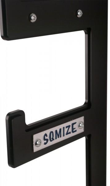 Langhantel Wall Rack SQMIZE® BWR100-NY mit Nylon Schutz
