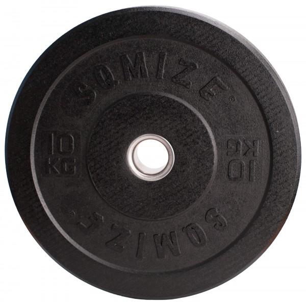 Crump Bumper Plate SQMIZE® CRBP10 Training, 10 kg, High Tempered