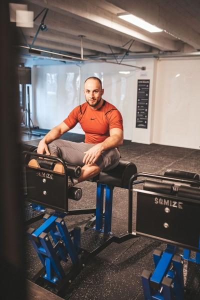 Glute Ham Developer SQMIZE® GH1100 Gym Series