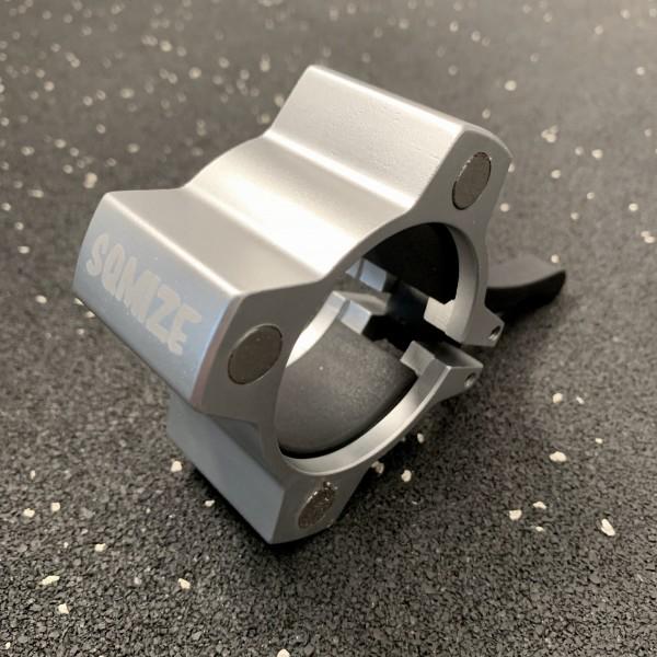Hantelverschluss 50 mm SQMIZE® OC14 Alu Magnetic Silver