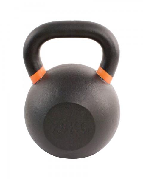 Black Kettlebell SQMIZE® BFK28 farbcodiert, 28 kg, orange