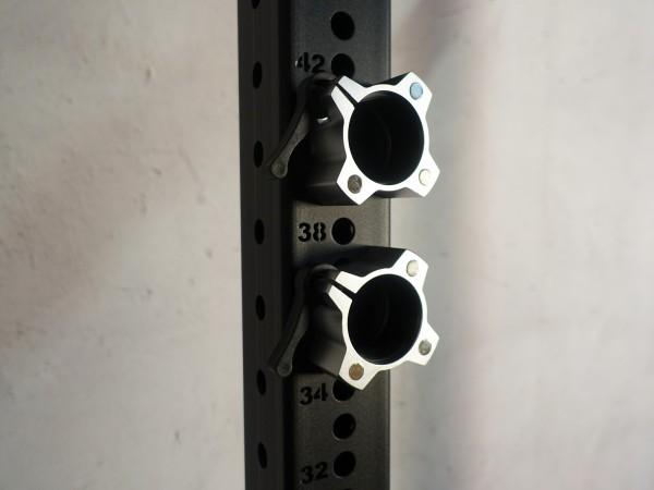 Hantelverschluss 50 mm SQMIZE® OC14 Magnetic Silver