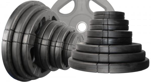 50 mm Hantelscheibenset Body-Track® DB126RB, 125 kg