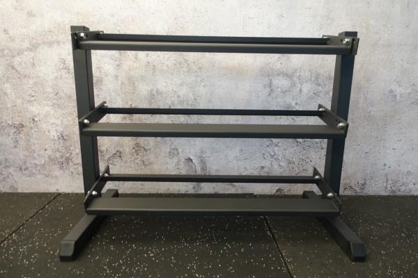 Kurzhantelständer SQMIZE® SQ220-FFS Pro 3-lagig