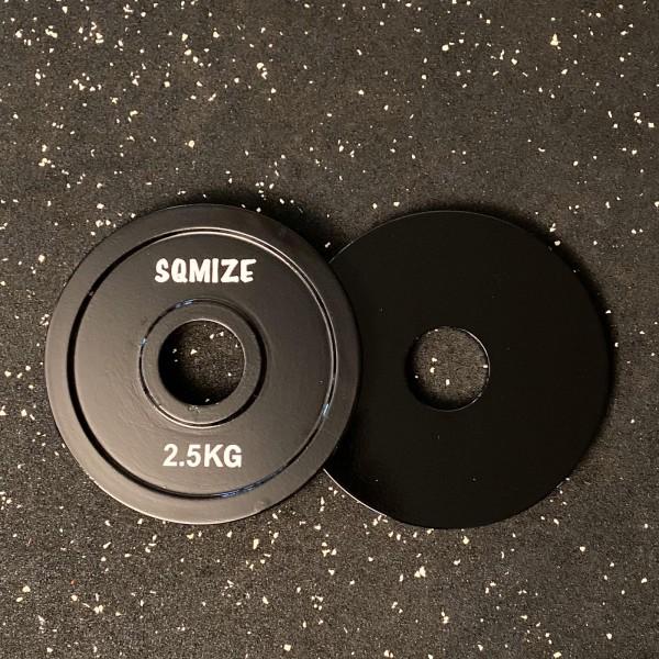 Powerlifting Hantelscheibe SQMIZE® PLSP2.5 Steel Plate Series