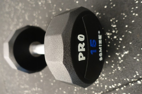 Dumbbell SQMIZE® PRO STYLE DCPU15 Polyurethan