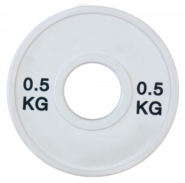 Fractional Plate SQMIZE® TP0.50, weiß gummiert