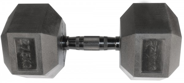 Hex Dumbbell SQMIZE® HDBR-Z27.5 Black Zinc