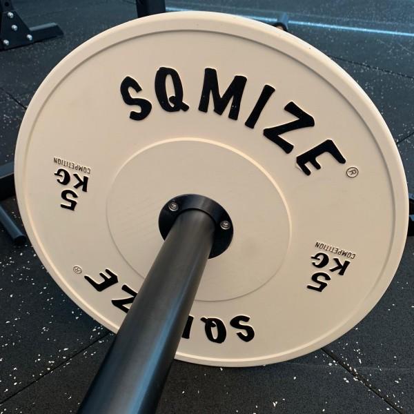 Competition Series SQMIZE® Bumper Plate CompBP5