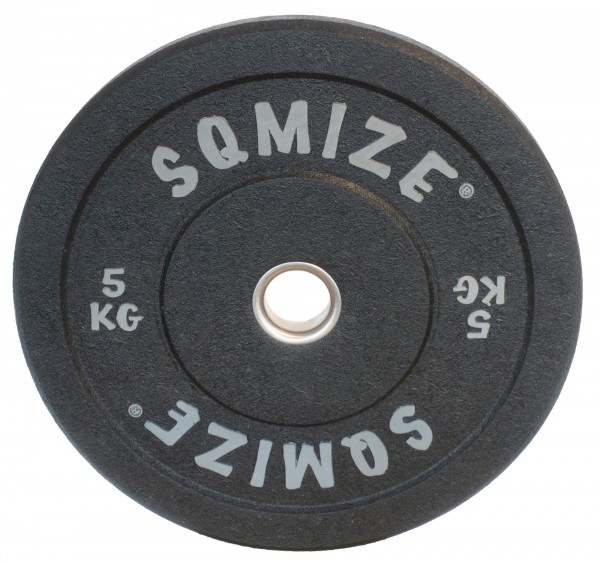 High-Tempered Bumper Plate SQMIZE® CRBP-C5 Training Color, 5 kg