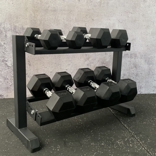 Hex Dumbbell Set mit Rack SQMIZE® SQ210-R100